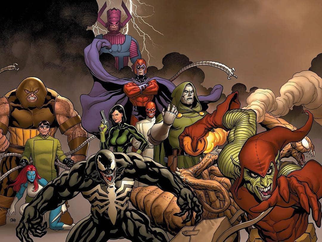 Marvel villains talk