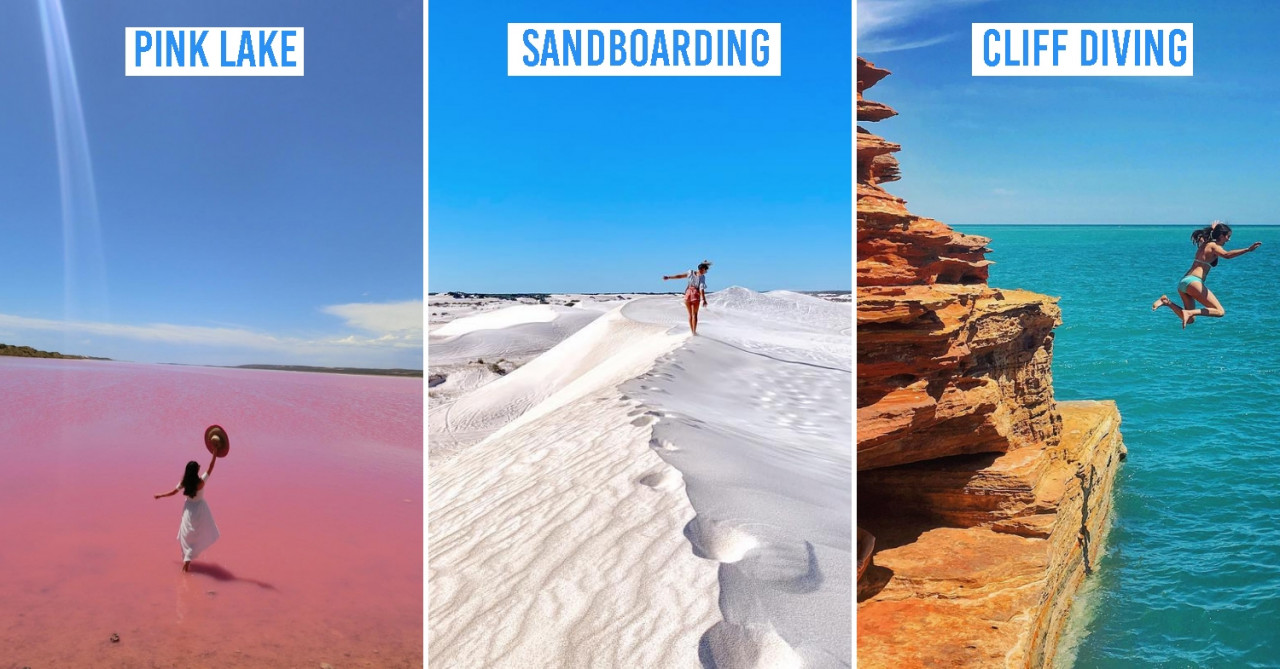 These Western Australia Itineraries Are A Photographer's Dream With Sunset Camel Rides & Pink Lakes