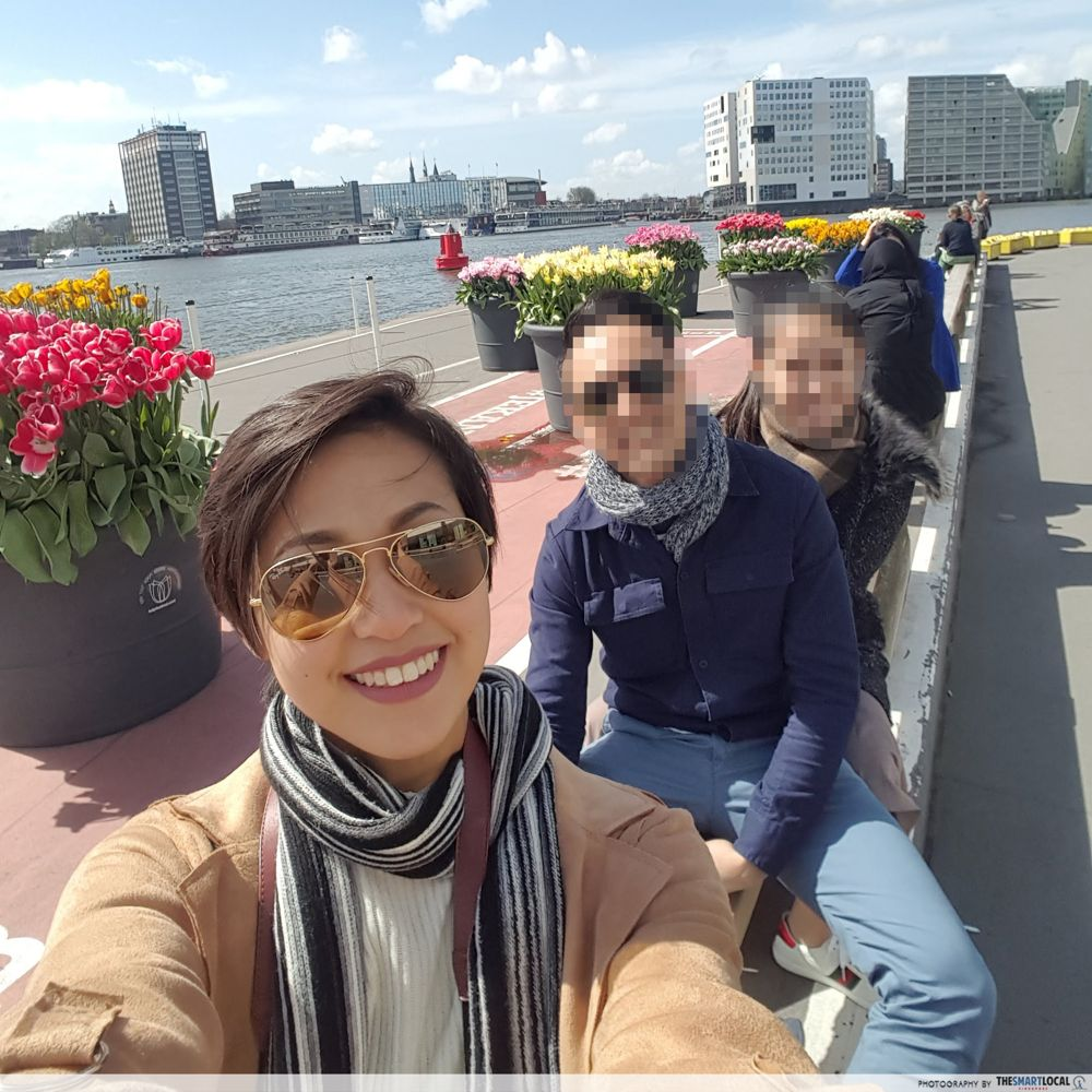 Group pic in Amsterdam