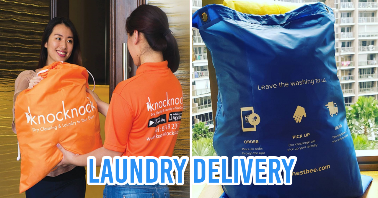 6 Laundry Services With Home Delivery & Pickup For Busy Singaporeans With No Time For Chores