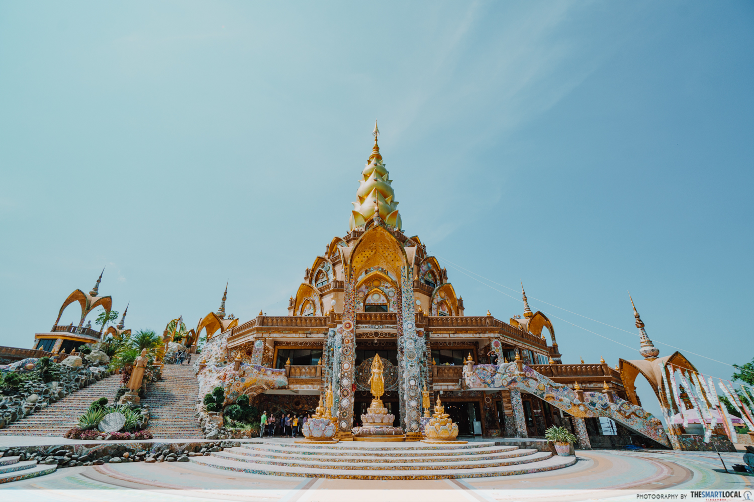Scenic places in Khao Kho - Wat Prathat Pha Sorn Kaew Temple