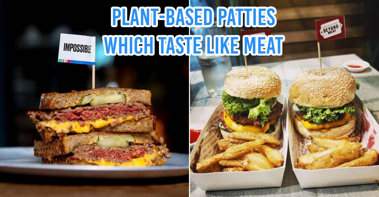 12 Cafes In Singapore With Vegan Burgers From Impossible Foods & Beyond Meat