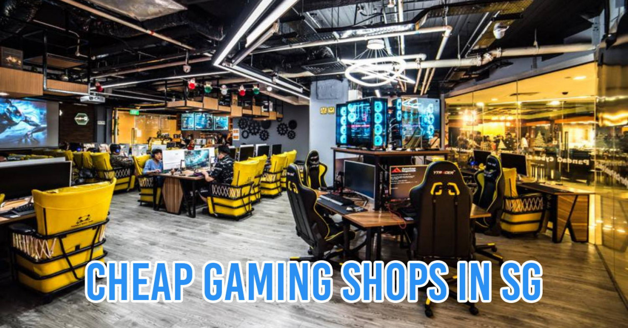 7 LAN Shops in Singapore For Lag-Free Gaming Sessions From Only $1/Hour