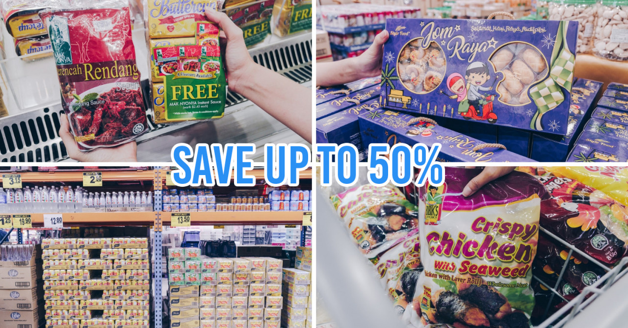 Warehouse Club Has A Hari Raya Open House With Up To 50% Off & No Membership Needed