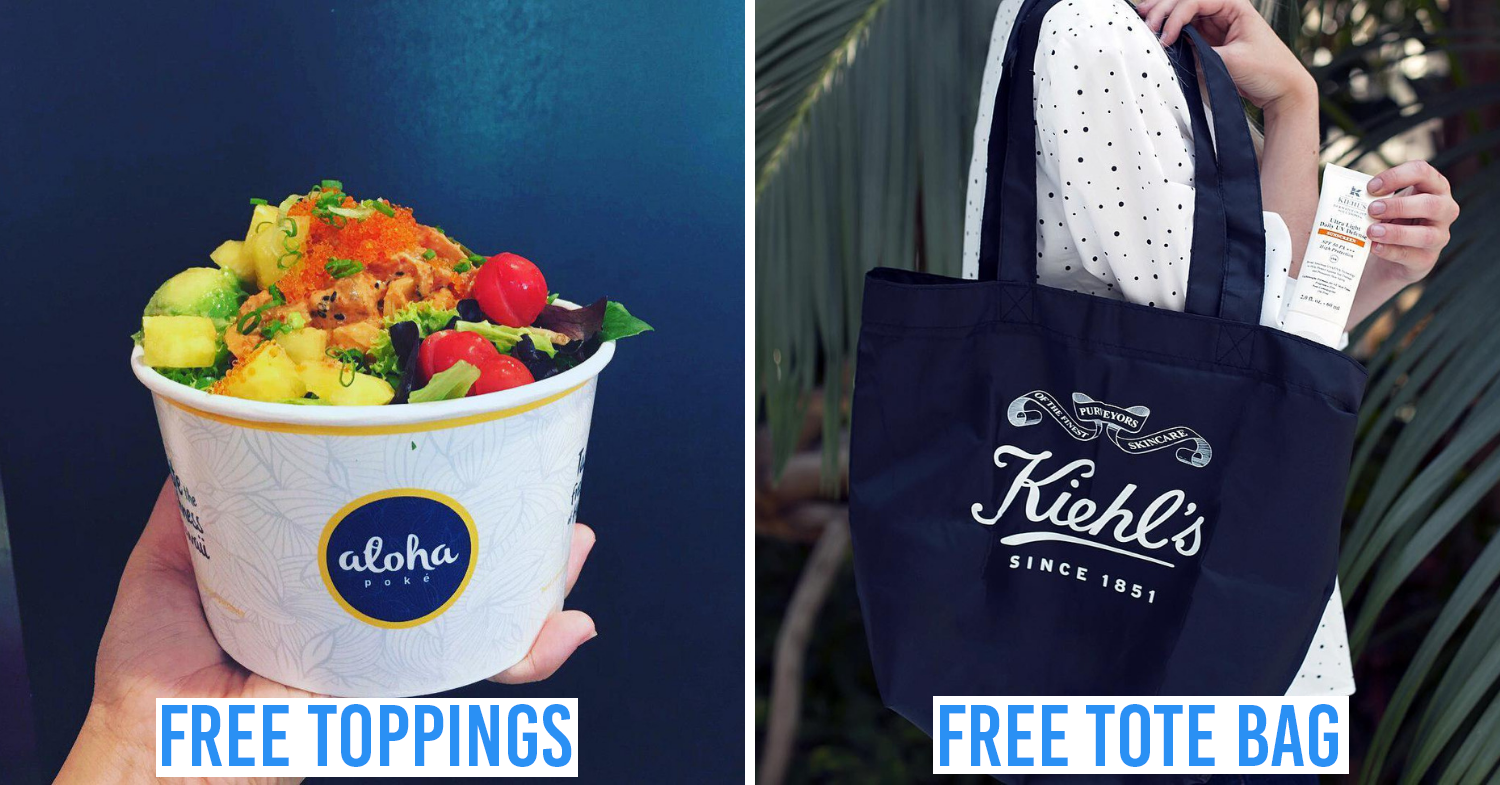 6 Places In Singapore With Discounts & Perks For Bringing Your Own Bag, Cup Or Container