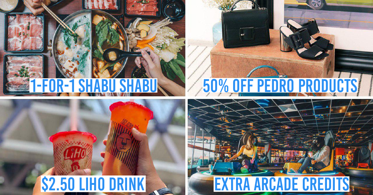 VivoCity Has 1-For-1 Deals, Grab Promos, New Shops & Up To 70% Off This June Holiday