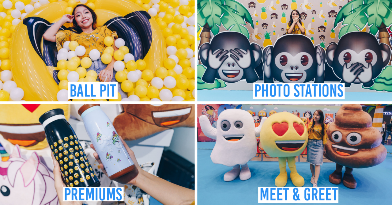 Marina Square Has SG's First Ever Emoji-Themed Photo Stations & Ball Pit That Will Be All Over IG