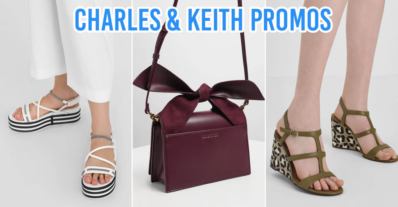 Charles & Keith's Online Store Is Giving You $10 Off Purchases Of $100 & Above From Now Till 31 Aug
