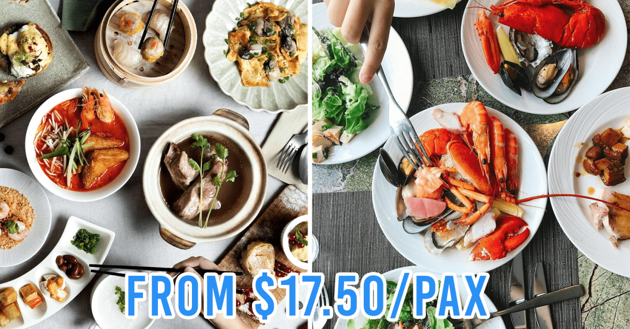12 Hotel Buffets In Singapore With 1-For-1 Deals To Activate Your Entire Squad For