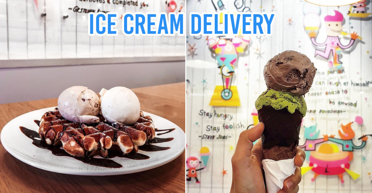 10 Ice Cream Delivery Services In Singapore From Your Favourite Dessert Cafes