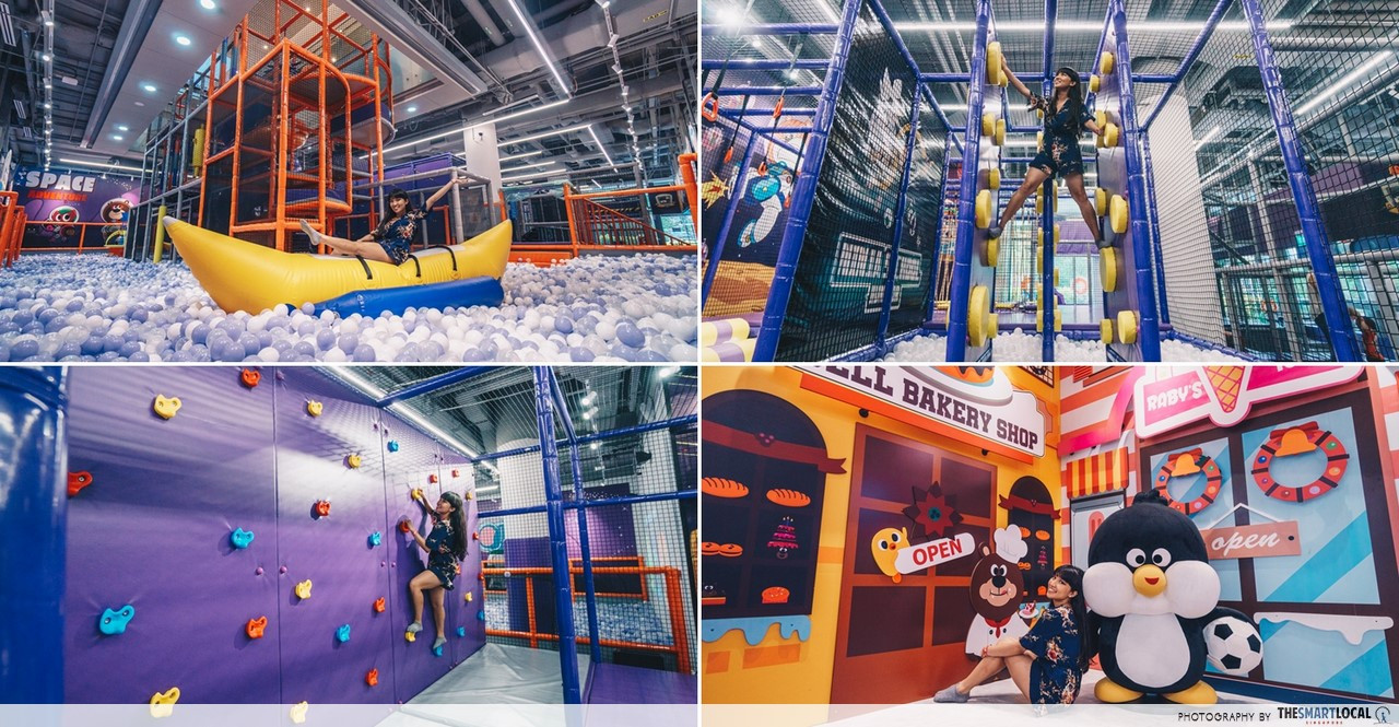 Kiztopia: New Indoor Playground At Marina Square With 18 Themed Zones, Ninja Course, & AR Games