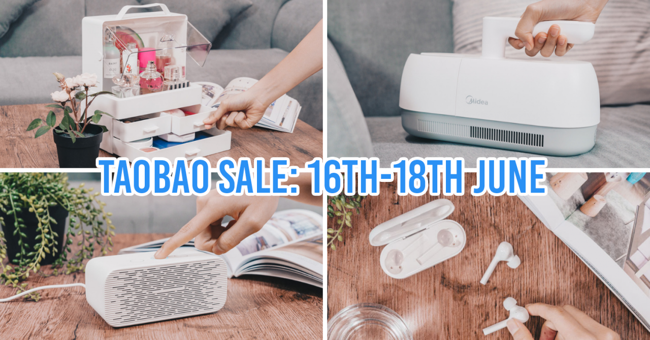 Taobao's GSS Sale Has Up To 70% Off On Home Appliances & Gadgets When You Buy With A Friend