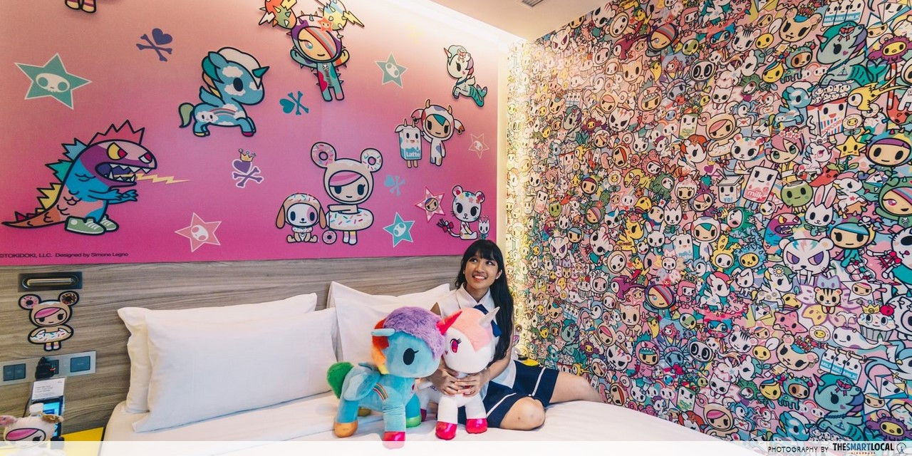 First Tokidoki-Themed Pop-Up Hotel In Asia: Now Open For Booking At The Quay Hotel Singapore