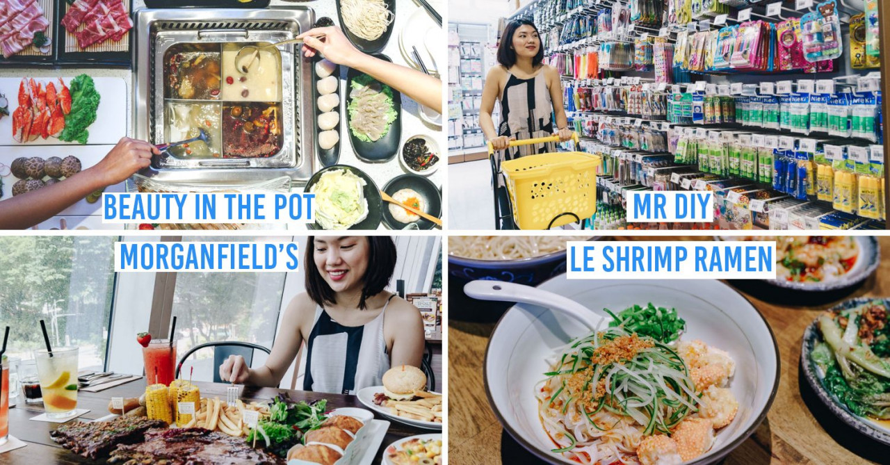 Star Vista Now Has New Shops Like Beauty In The Pot, Le Shrimp Ramen & MR.DIY To Alight At Buona Vista For