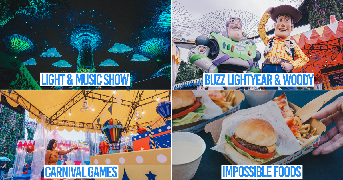 Gardens By The Bay's Children's Festival 2019: Disney And Pixar's Toy Story 4 With Carnival Games & Workshops