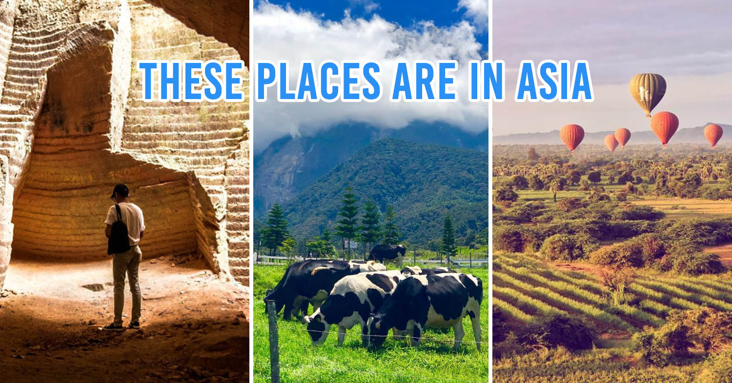 8 Places In Asia Under 4 Hours From Singapore That Look Like Sights From Far Away Lands
