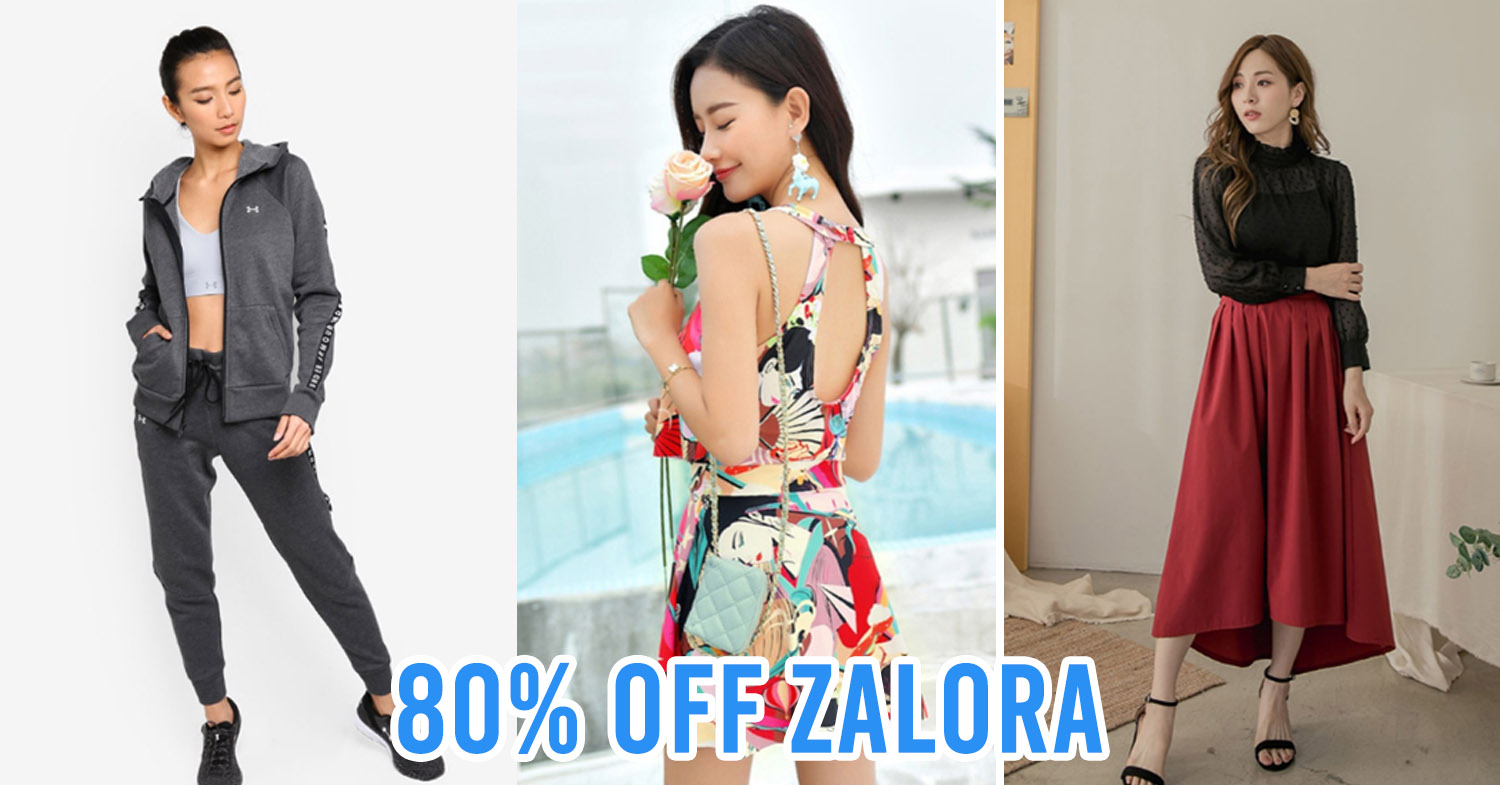 ZALORA's Big Fashion Sale Has Discounts Of Up To 80% From Now Till 30th June