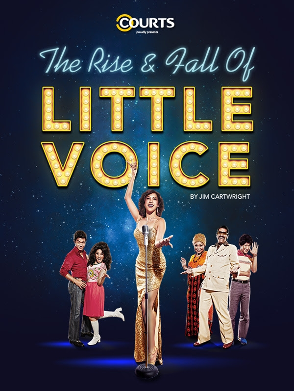 The Rise & Fall of Little Voice Starts Early May - Here's our Interview with Adrian Pang and Denise Tan