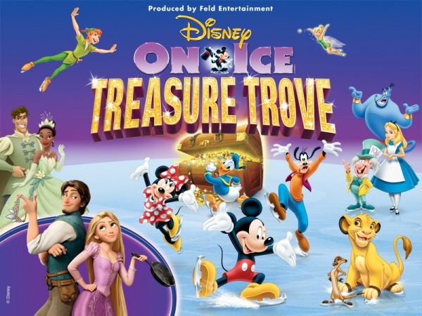 Disney On Ice Presents Treasure Trove comes to Singapore 19th to 23rd March 2014