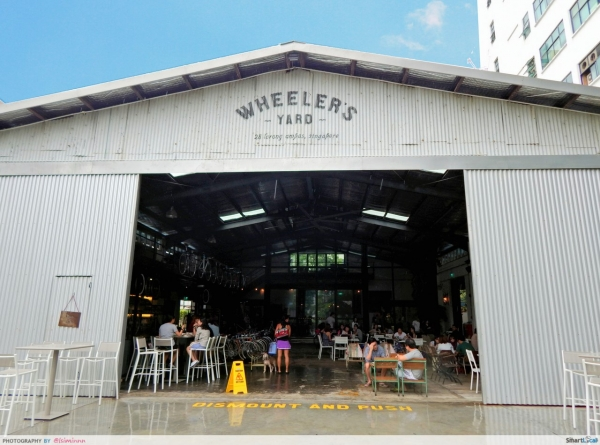 Wheeler's Yard - Possibly The Best Looking But Most Disappointing Cafe in Singapore