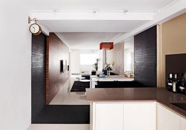 13 small homes so beautiful you won 39 t believe they re hdb for Open concept interior design
