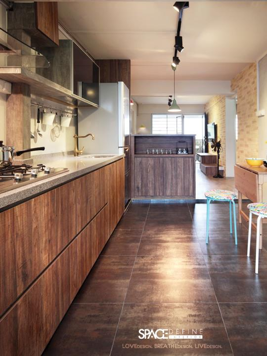 Kitchen Design For Hdb Flat 13 small homes so beautiful you won't believe they're hdb flats