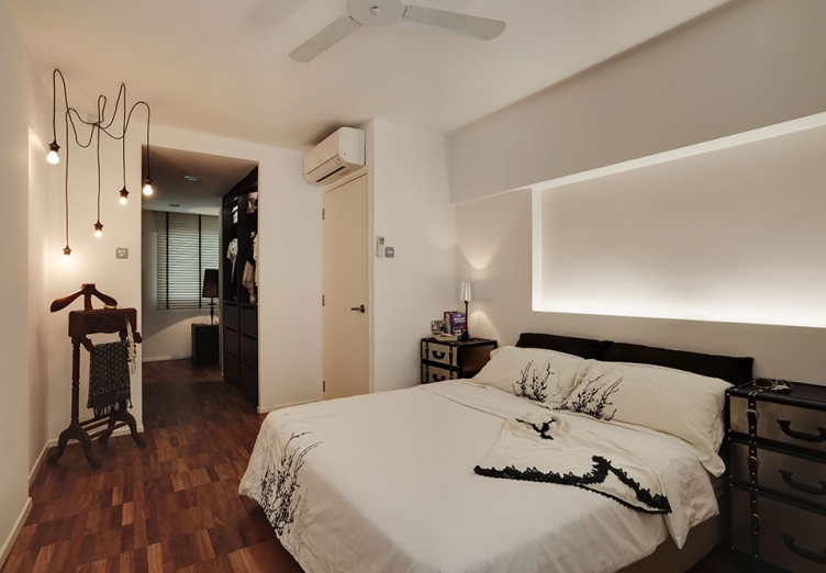 SMALL Homes So Beautiful You Wont Believe Theyre HDB Flats - Hdb bedroom design ideas