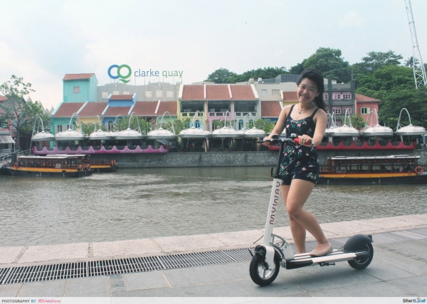 Visited 10 Iconic Singapore attractions in 30 mins on an electric scooter. This is how we did it.