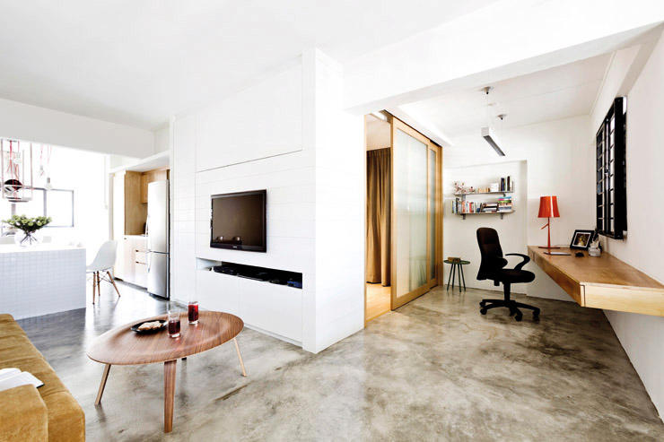 15 singapore homes so beautiful you won 39 t believe they re for Interior design for 2 bed flat
