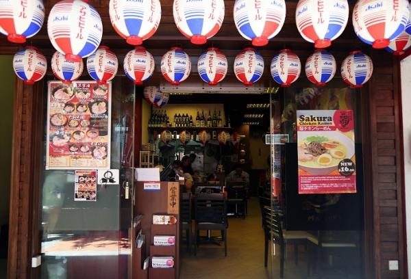 Ramen Matsuri - A Healthier Option with Sakura Chicken Ramen