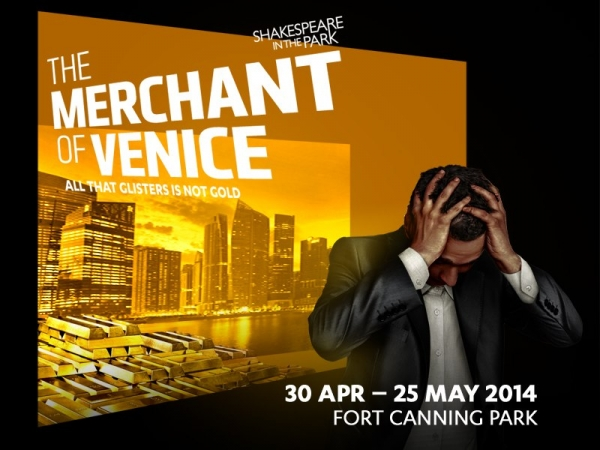 Shakespeare in the Park - Merchant of Venice 30 Apr - 25 May