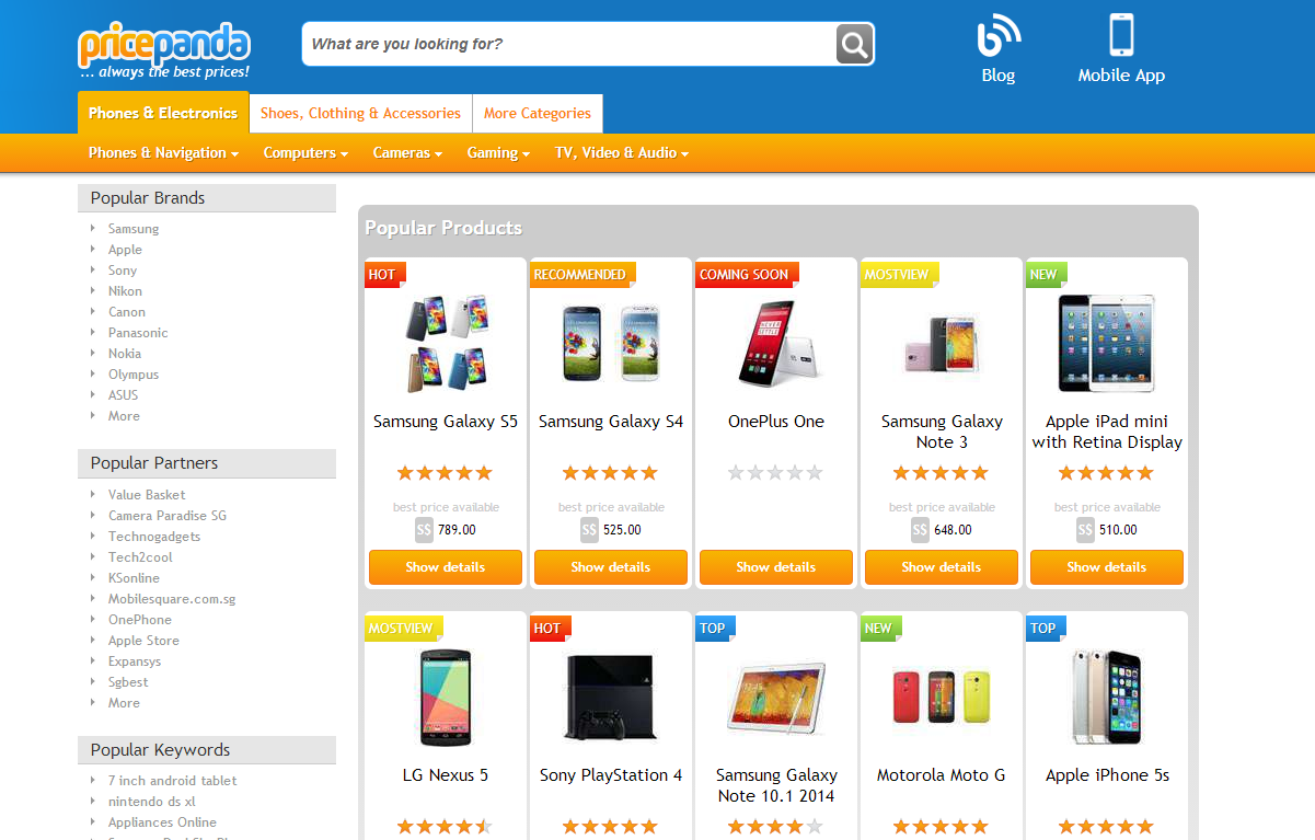 3 local online shopping websites that singaporeans should for Online shopping websites list