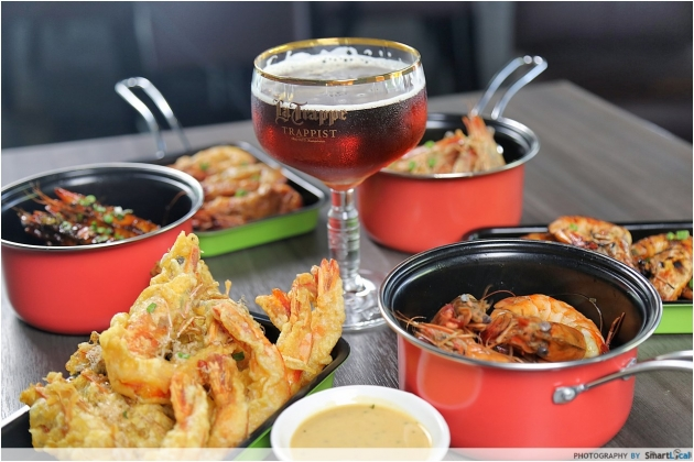 Six Prawns and A Beer Opens - For the love of Prawns and Beer!