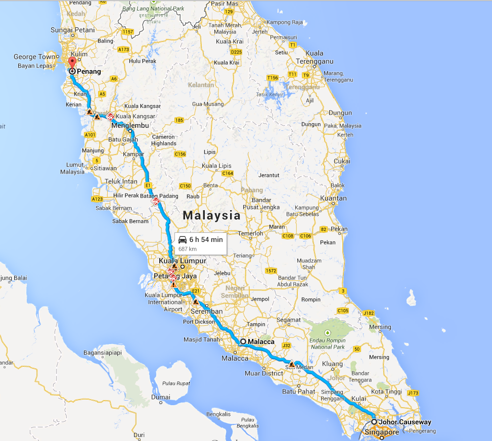 Plan A Road Trip >> 5 Malaysian Road Trip Adventures for Singaporeans - TheSmartLocal