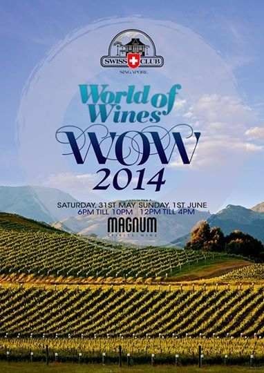World of Wines 2014 Singapore - 31st May to 1st June