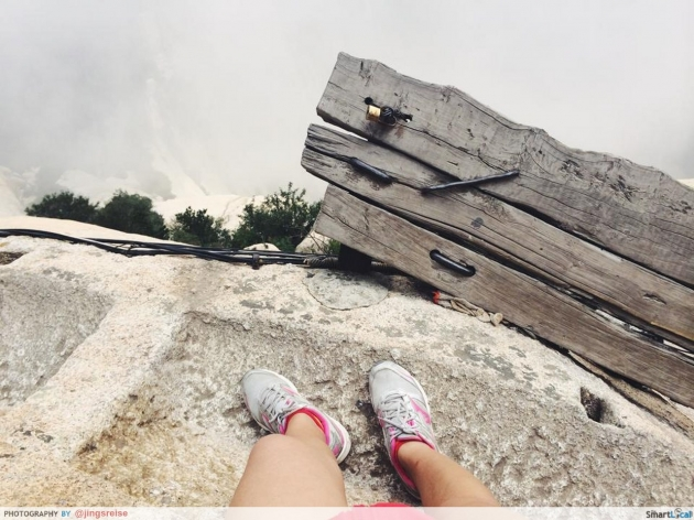 Two Singaporean Girls Climb The Most Terrifying Trail In The World At Mount Huashan, Xi'an.