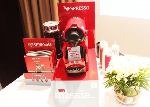 Nespresso's Inissia launches in Singapore