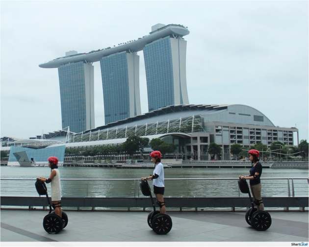 Segway opens at Marina Bay Sands! Here's Our Insider Look At This Novelty Attraction