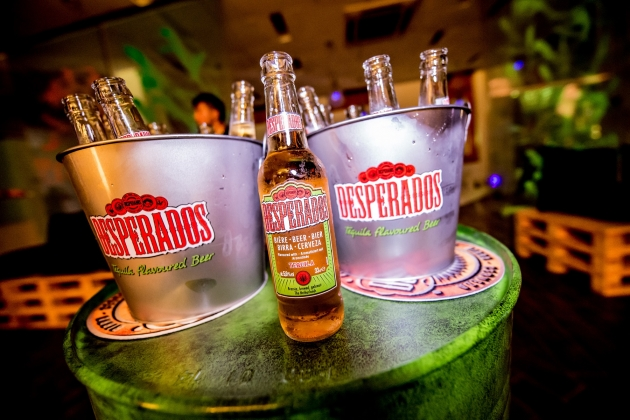 Desperados - World's first Tequila Flavoured Beer comes to Singapore