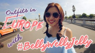 Lollyrouge Giveaway + What Bellywellyjelly Wore To Europe! PrettySmart: Episode 25