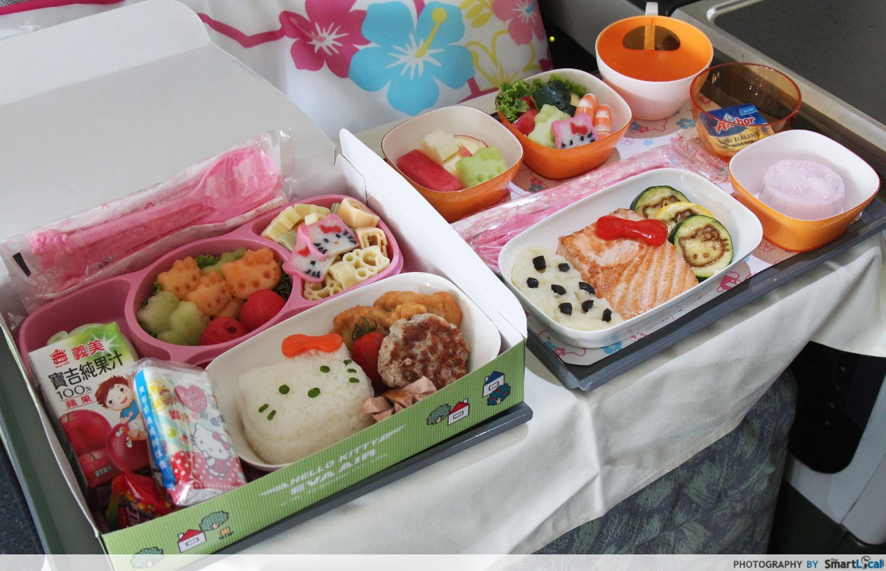 First Look Inside Eva Air S Hello Kitty Airplanes Flying