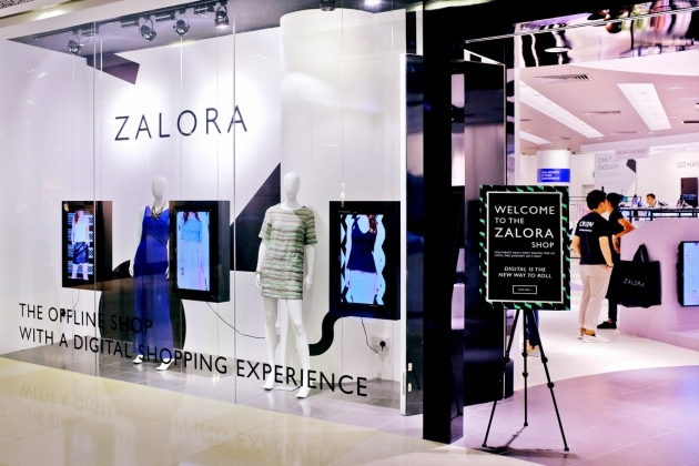 The Brand New ZALORA Store at ION Changes the Whole Retail Shopping Experience