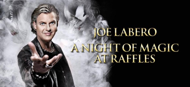 Watch Acclaimed Magician Joe Labero Command Fire at Raffles Hotel