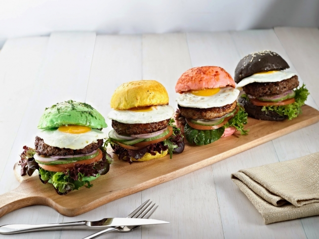 Eggs And Berries - Design Your Own Healthy Burger