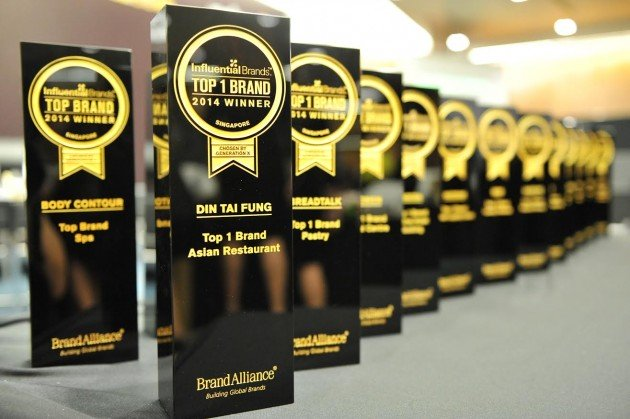 Singaporeans' Top Brands of 2015 Revealed - Brand Alliance Unveils This Year's Winners