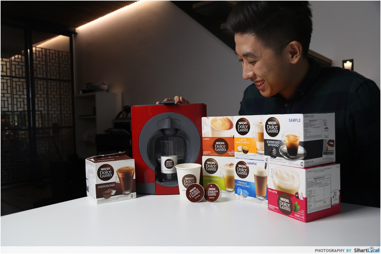 Nescafe dolce gusto malaysia review
