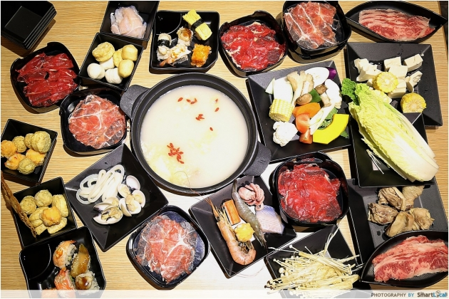 Momiji Shabu Shabu - The First Collagen Steamboat Buffet to hit Singapore