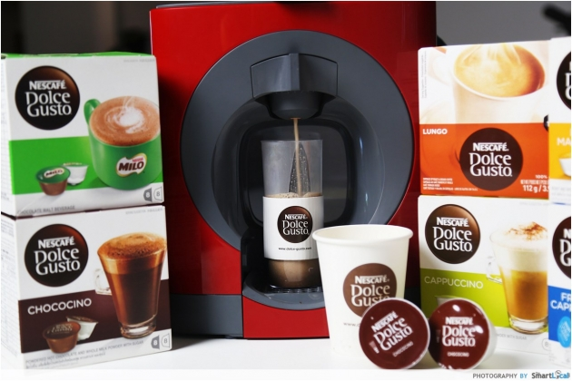 Dolce Gusto Oblo -  Homemade Coffee in less than a minute