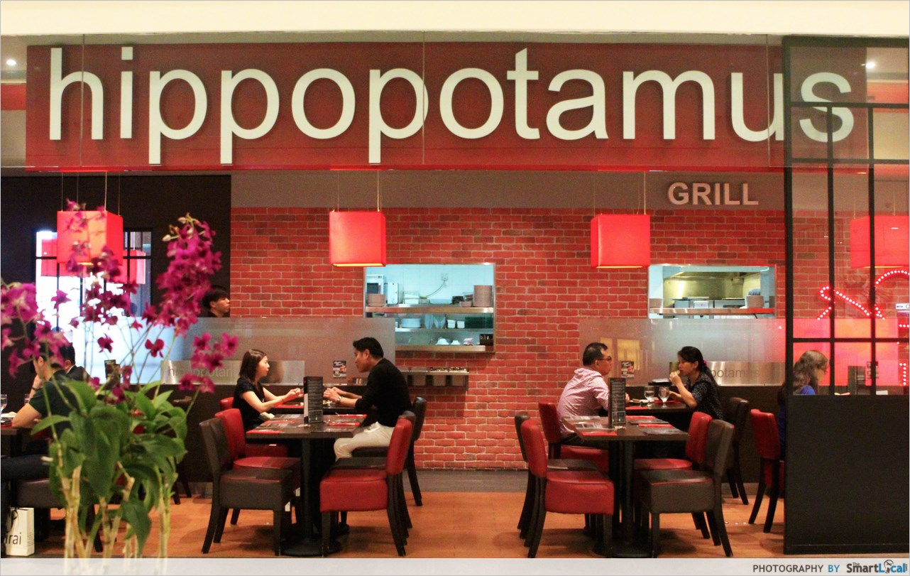 Hippopotamus restaurant grill eat like a hippo at affordable prices thesmartlocal - Hippopotamus restaurant grill ...
