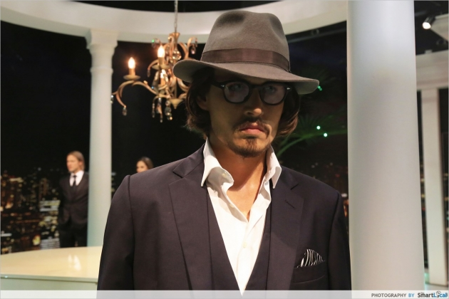 Meet & Touch Johnny Depp at Madame Tussauds Singapore